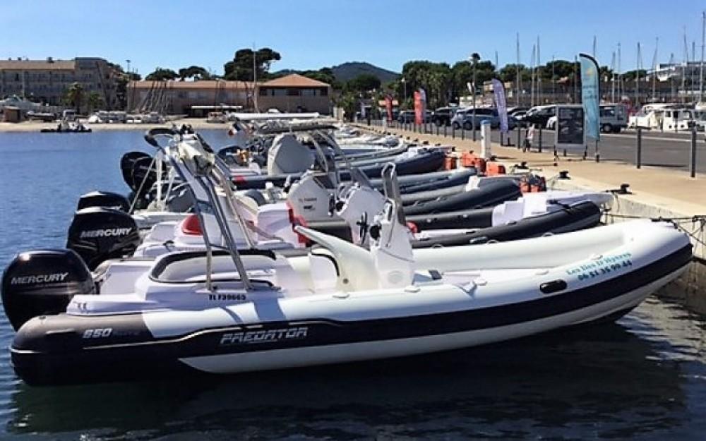 Noleggio barche Italboats Predator 650 Hyères su Samboat