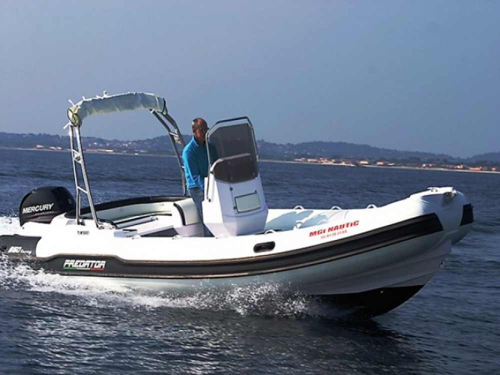 Noleggio Gommone con o senza skipper Italboats Hyères