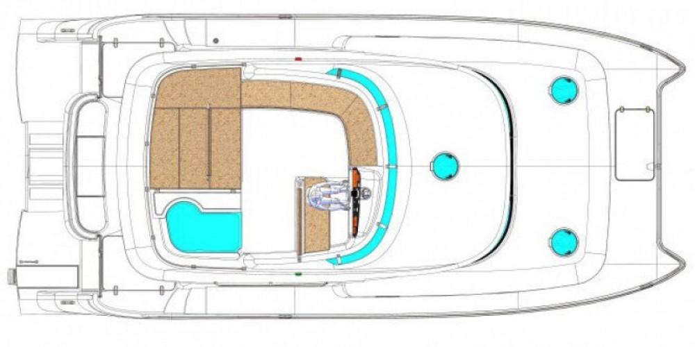 Noleggio Barca a motore con o senza skipper Fountaine Pajot La Trinité-sur-Mer