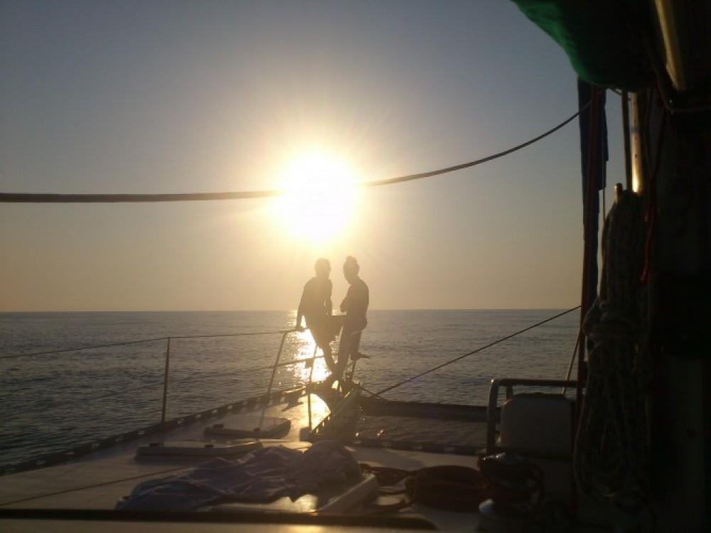 noleggio Catamarano Martinica - Chantier-Du-Lez plan carof lazzy 54