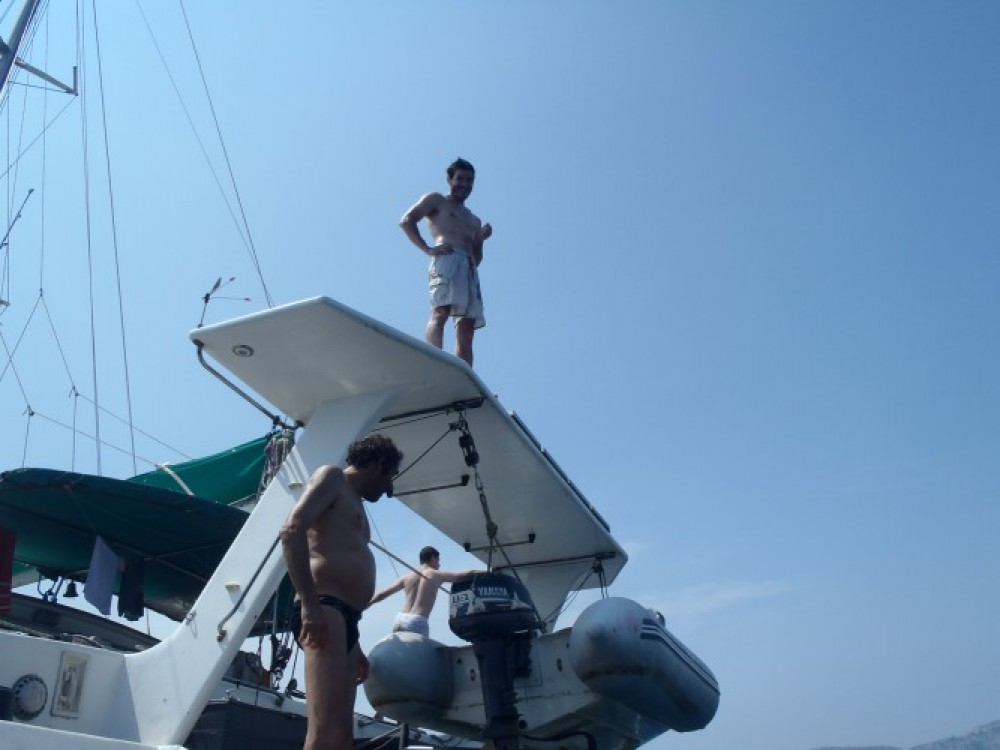 Noleggio yacht Martinica - Chantier-Du-Lez plan carof lazzy 54 su SamBoat
