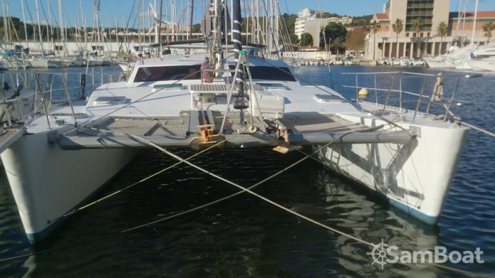 Noleggio barche Martinica economico plan carof lazzy 54