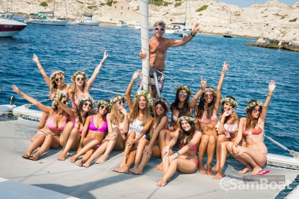 Noleggio yacht Marsiglia - Fountaine Pajot Bahia 46 su SamBoat