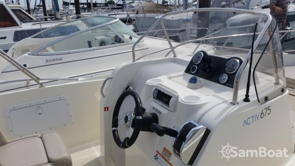 Noleggio barche Parentis-en-Born economico Activ 675 Open