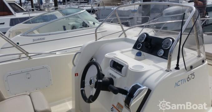 Noleggio Barca a motore con o senza skipper Quicksilver a Parentis-en-Born