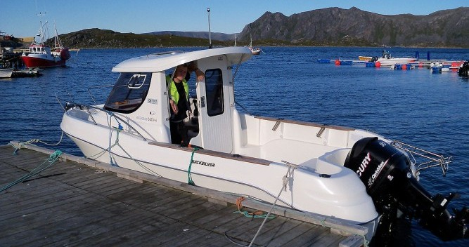 Noleggio barche Lorient economico Quicksilver 640 Pilothouse