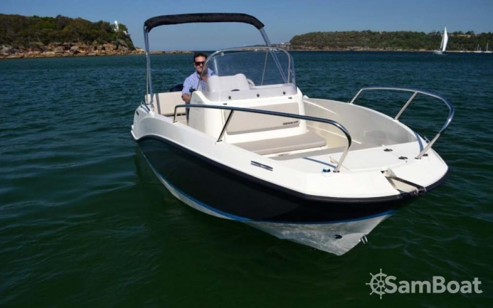 Noleggio Barca a motore con o senza skipper Quicksilver Marsiglia