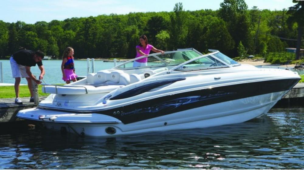 Noleggio barche Fréjus economico Crownline 260 LS