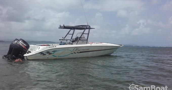 Barca a motore a noleggio a Le François al miglior prezzo