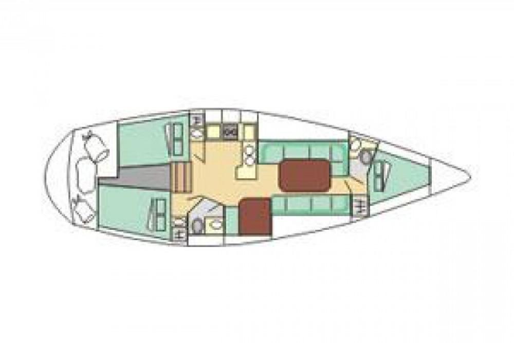 Noleggio barche Port Diélette economico Gib Sea 114