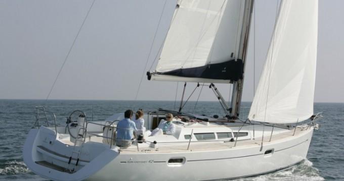 Noleggio Barca a vela con o senza skipper Jeanneau a Le Marin
