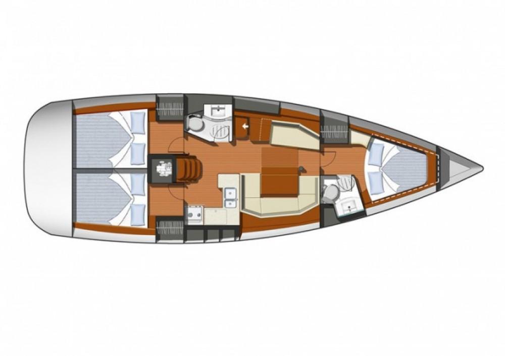 Noleggio yacht Martinica - Jeanneau Sun Odyssey 42i su SamBoat
