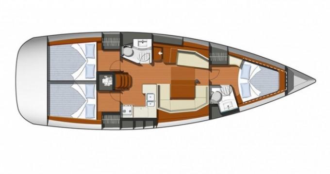 Noleggio barche Le Marin economico Sun Odyssey 42i