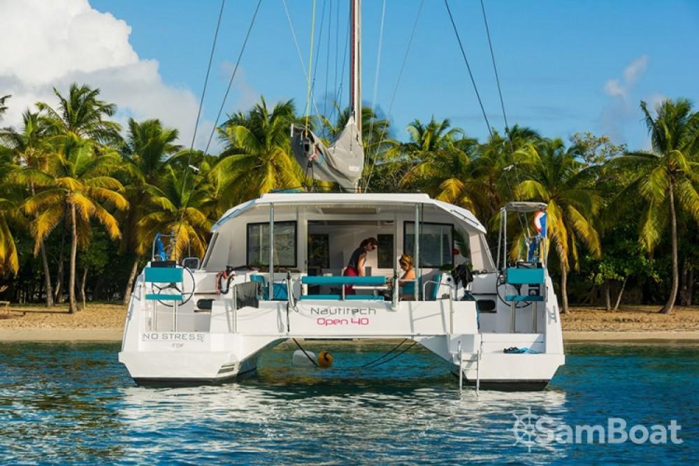 Noleggio Catamarano con o senza skipper Nautitech Martinica
