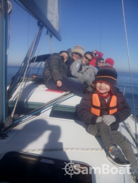 Noleggio yacht Fontarrabie - Bénéteau Oceanis 373 su SamBoat