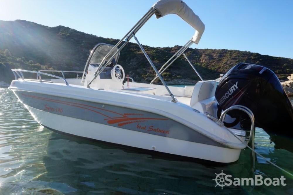 Noleggio Barca a motore Salmeri con una patente