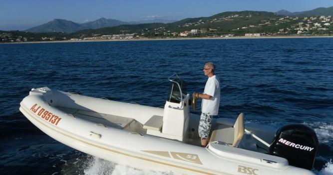 Noleggio Gommone con o senza skipper Bsc a Ajaccio