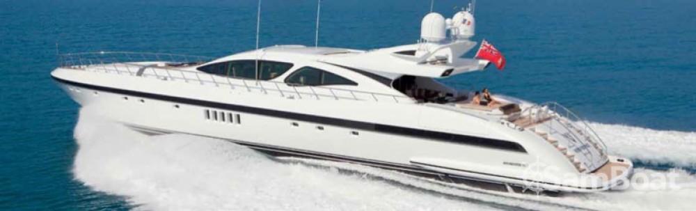 Noleggio Yacht Mangusta con una patente
