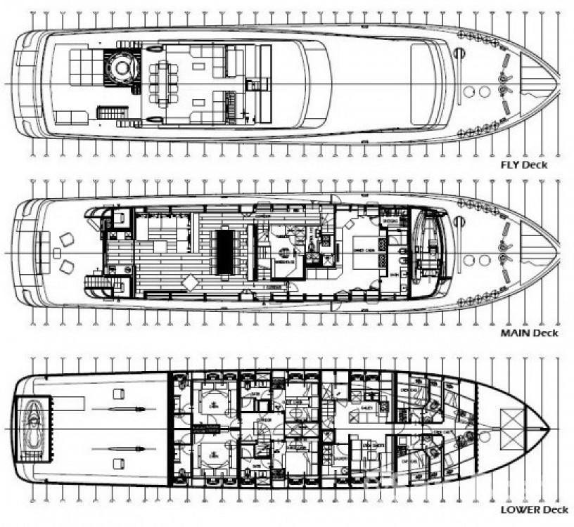 Noleggio Yacht Baglietto con una patente