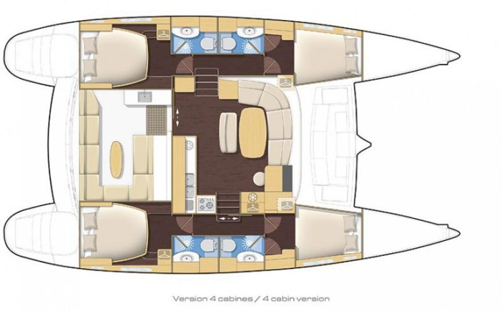 Noleggio yacht Bonifacio - Lagoon Lagoon 440 su SamBoat