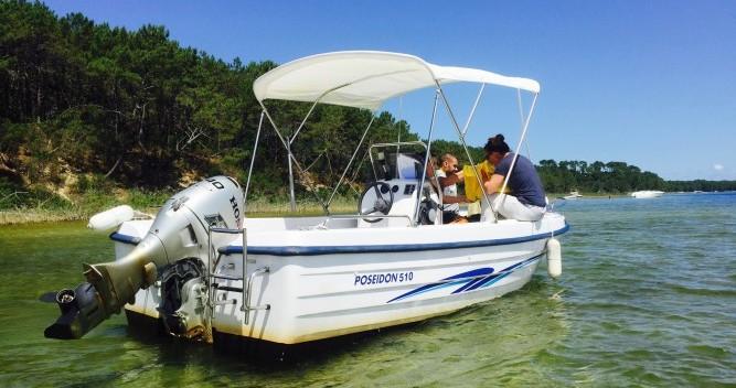 Poseidon 510 Confort tra privati e professionisti a Biscarrosse