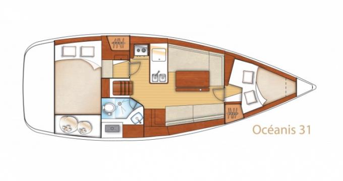 Noleggio barche Bénéteau Oceanis 31 Dl a Arzon su Samboat
