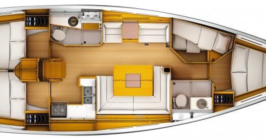 Noleggio barche Jeanneau Sun Odyssey 449 Q a Port du Crouesty su Samboat