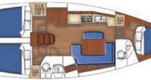 Noleggio Barca a vela a La Grande-Motte – Bénéteau Oceanis 40