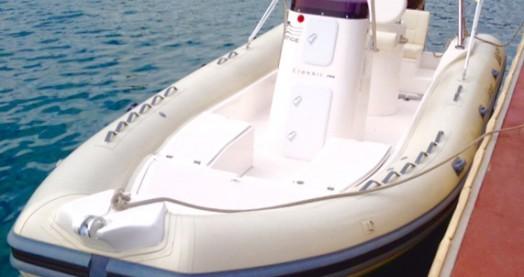 Noleggio Gommone Nuova Jolly con patente nautica