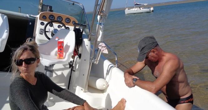 Noleggio Barca a motore Lms 7.05 con patente nautica