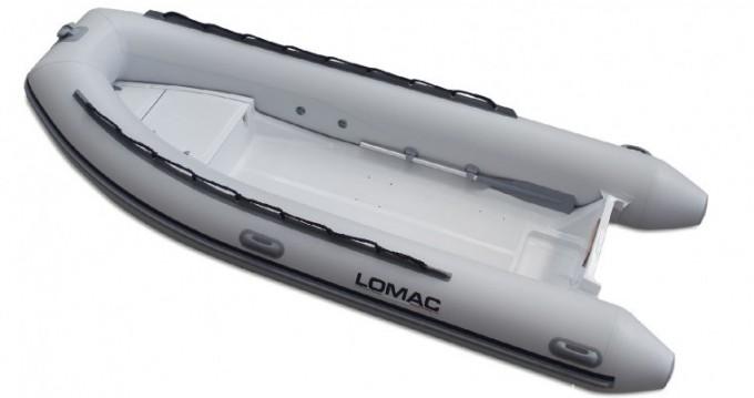 Noleggio Gommone Lomac con patente nautica