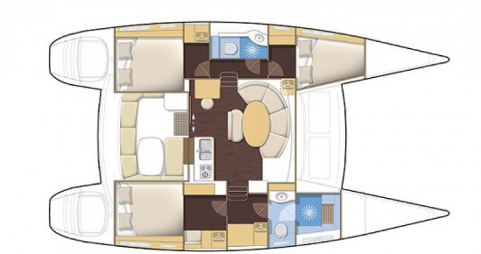 Noleggio barche Le Vauclin economico Lagoon 380