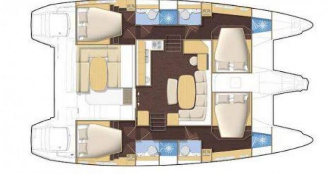 Noleggio Catamarano Bénéteau con patente nautica