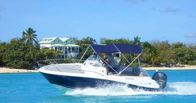 Noleggio Barca a motore con o senza skipper Jeanneau a Marigot
