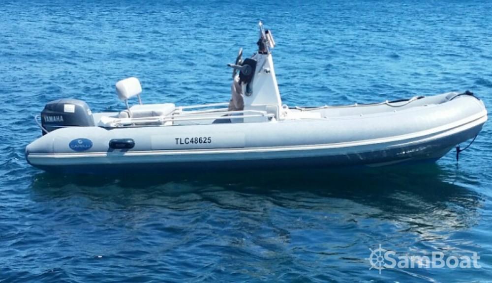 Noleggio barche Capelli Tempest 500 Work Antibes su Samboat