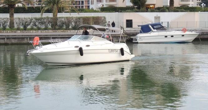 Noleggio Barca a motore con o senza skipper Sea Ray a Mandelieu-la-Napoule