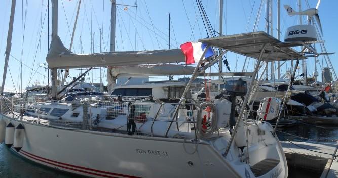 Noleggio barche Bandol economico Sun Fast 43