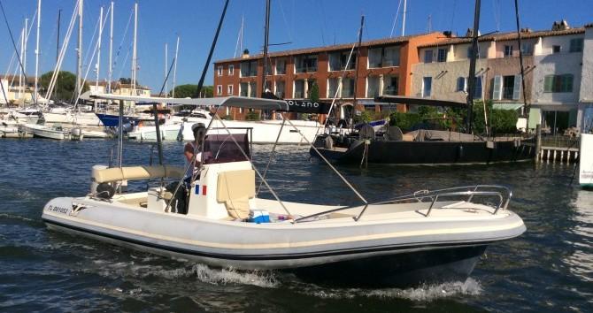Noleggio barche Port Grimaud economico Katoy 650