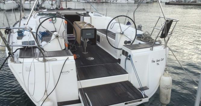 Noleggio barche Saint-Mandrier-sur-Mer economico Dufour 405 Grand Large