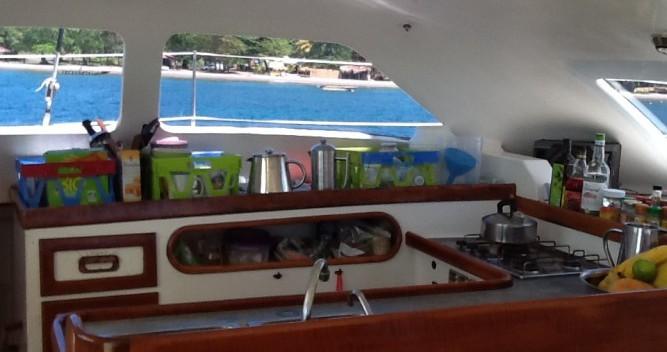 Noleggio Catamarano Multicap-Caraibes con patente nautica