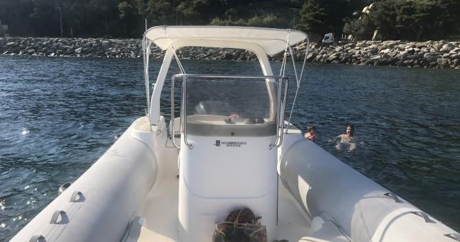 Noleggio barche Bastia economico Tempest 750