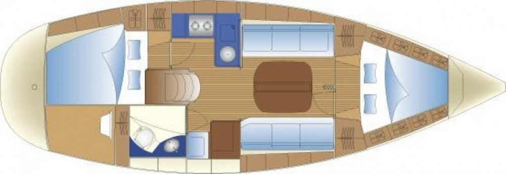 Noleggio barche La Trinité-sur-Mer economico Bavaria 32