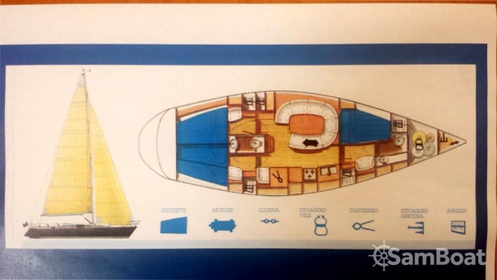 Noleggio barche Comar Genesi 43 Punta Ala su Samboat