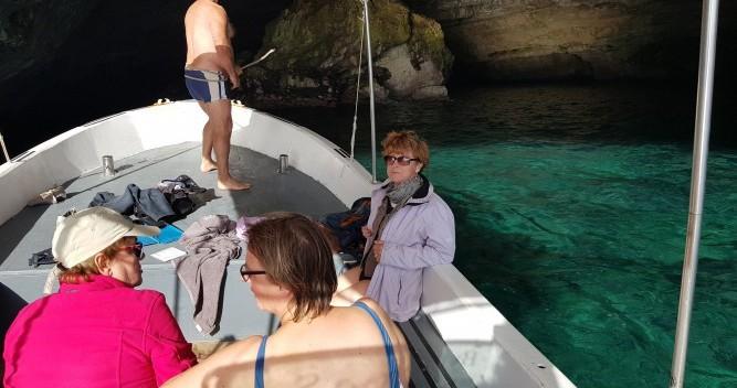 Noleggio Barca a motore Gozzo con patente nautica