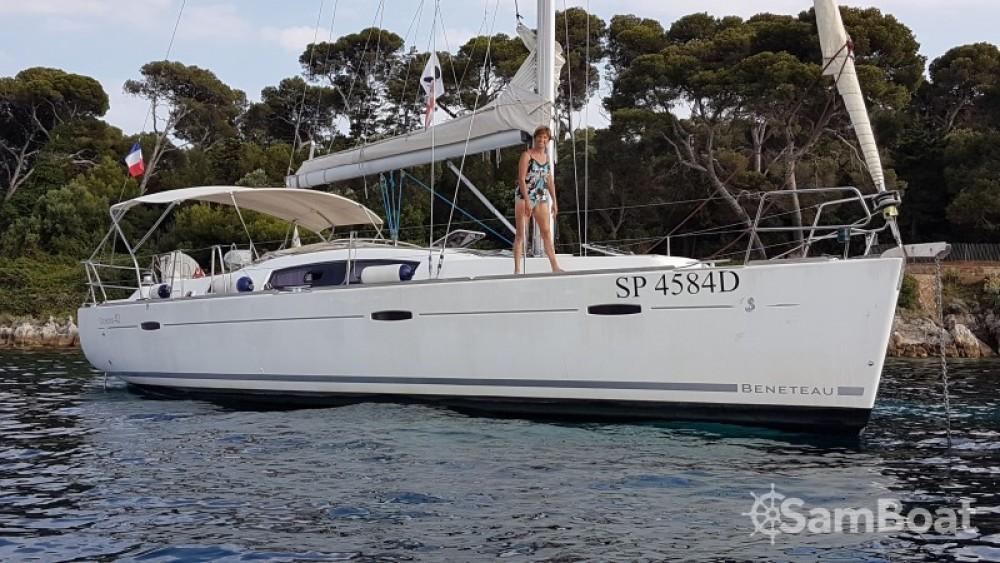 Noleggio barche Golfe-Juan economico Oceanis 40
