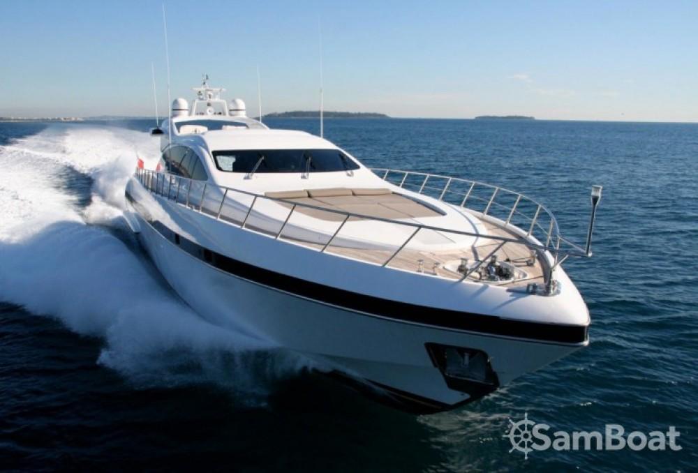 """Noleggio barche Mangusta 28.06 metres (92' 1"""") Cannes su Samboat"""