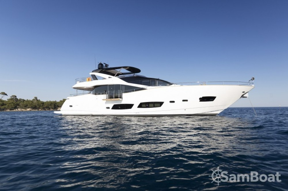 "noleggio Yacht Saint-Tropez - Sunseeker 28.15 metres (92' 4"")"
