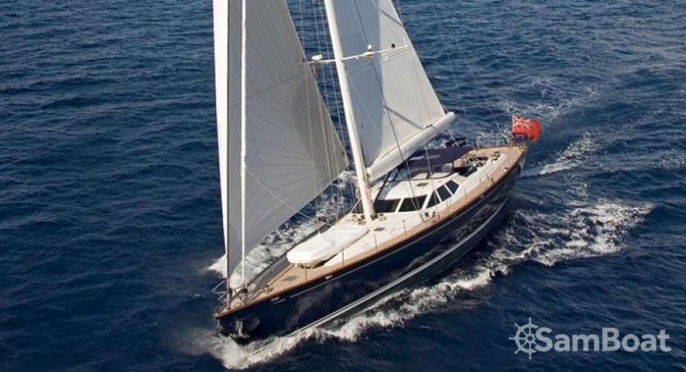Noleggio Barca a vela Pendennis con una patente