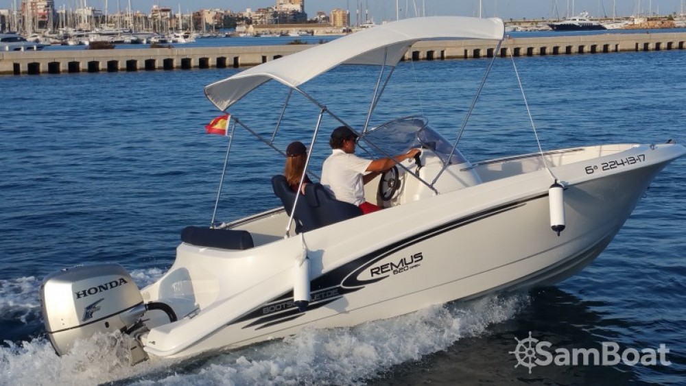 Noleggio barche Real Club Náutico economico 620 Open