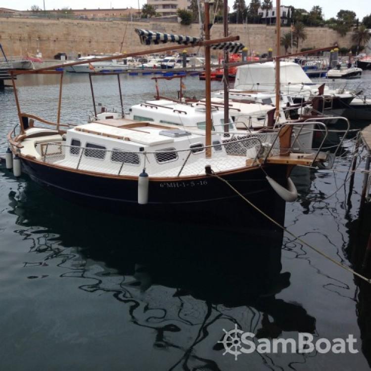 Noleggio Barca a motore Llaud con una patente